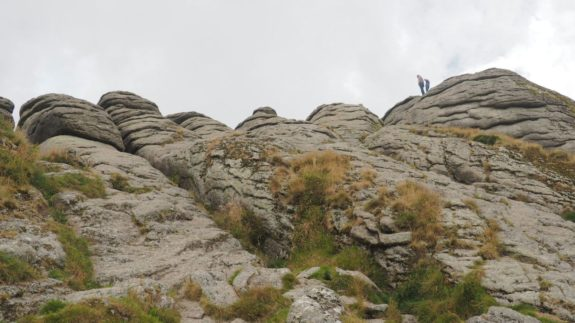 Haytor Rocks en el Dartmoor National Park